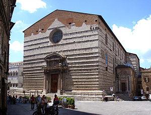 Perugia Cathedral - Façade