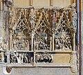 Cathédrale Saint-Just de Narbonne - Partie droite du retable sculpté de la chapelle de Notre-Dame de Bethléem.jpg