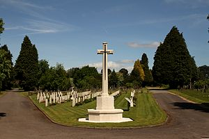 Cathays Cemetery - Commonwealth War Graves section