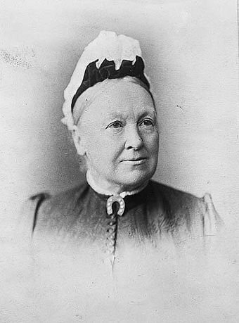 South Australian suffragette Catherine Helen Spence (1825-1910). In 1895 women in South Australia were among the first in the world to attain the vote and were the first to be able to stand for parliament. Catherine Helen Spence.jpg