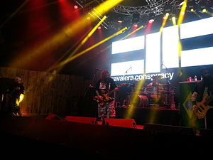 Cavalera Conspiracy - Cavalera Conspiracy performing in 2015