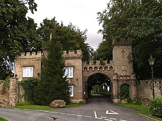 South Cave village in the East Riding of Yorkshire, England, United Kingdom