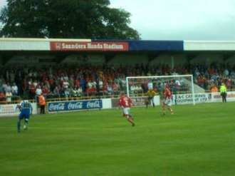 Chester City F.C. - Chester City at the Deva Stadium, 2007.