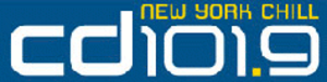 "WFAN-FM - New York's CD101.9 Logo when the station ran its ""Chill"" format."