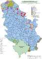 Census 2002 Serbia, ethnic map (by municipalities).png