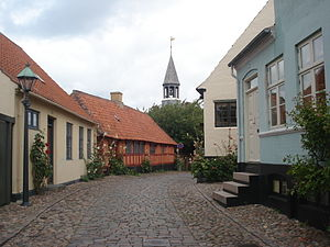 Ebeltoft - Image: Centre d'Ebeltoft