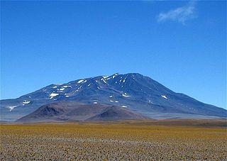 Cerro Bonete mountain in province de La Rioja, Argentine