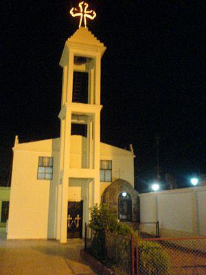 Al-Malikiyah - Image: Chaldean church