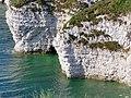 Chalk Cliffs, North Landing, Flamborough - geograph.org.uk - 763411.jpg