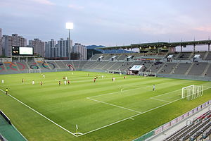 Korea National League - Image: Changwon Soccer Center 2