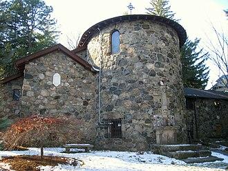 Chapel of St. Anne (Arlington, Massachusetts) - Image: Chapel of St. Anne, Arlington MA IMG 2678