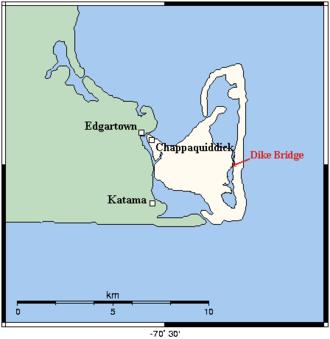 Chappaquiddick incident - Image: Chappaquiddick 4