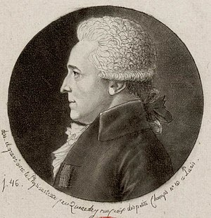Charles Paul Landon - Image: Charles Paul Landon (1760–1826), after a sketch by Edme Quenedey (1756–1830)