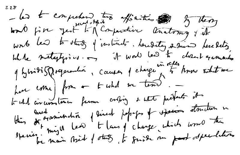 File:Charles Darwin - 1837 notebook page.jpg