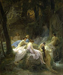 Charles François Jalabert - Nymphs Listening to the Songs of Orpheus - Walters 3737.jpg