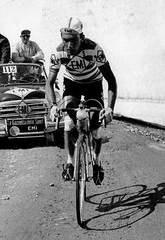 Charly Gaul won three Grand Tours in his cycling career. Charly Gaul 1959 (cropped).jpg