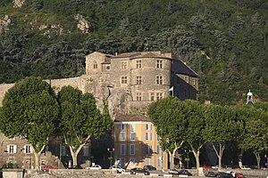 Château de Tournon - The castle in 2008