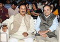 Chaudhary Birender Singh and the Minister of State for Culture and Tourism (Independent Charge), Dr. Mahesh Sharma, at the Rashtriya Sanskriti Mahotsav-2016, organised by the Ministry of Culture, in New Delhi.jpg