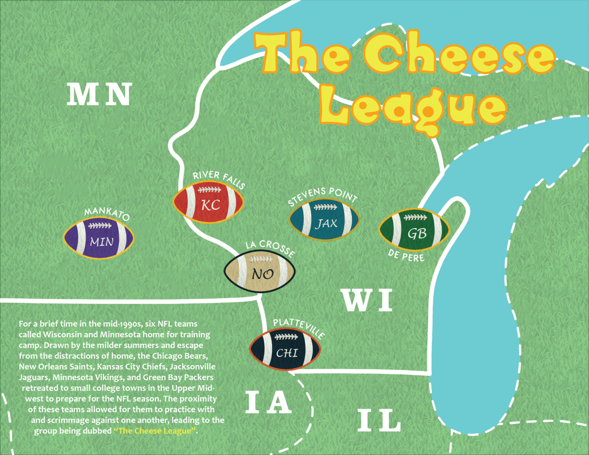 St Norbert College Campus Map.Cheese League Wikipedia