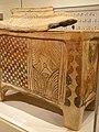 Chest-shaped Larnax coffin Terracotta Minoan IIIB Late 13th century BCE (566719679).jpg