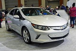 Chevrolet Volt (second generation) Motor vehicle