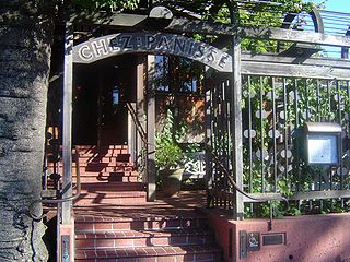 Chez Panisse restaurant in Berkeley, United States