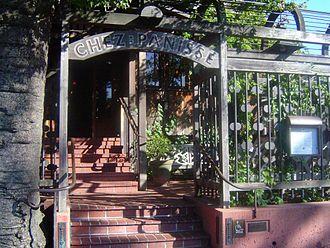 Chez Panisse - The front entrance to Chez Panisse