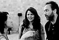 Chiaki Hayashi, Christine and Jimmy Wales.jpg