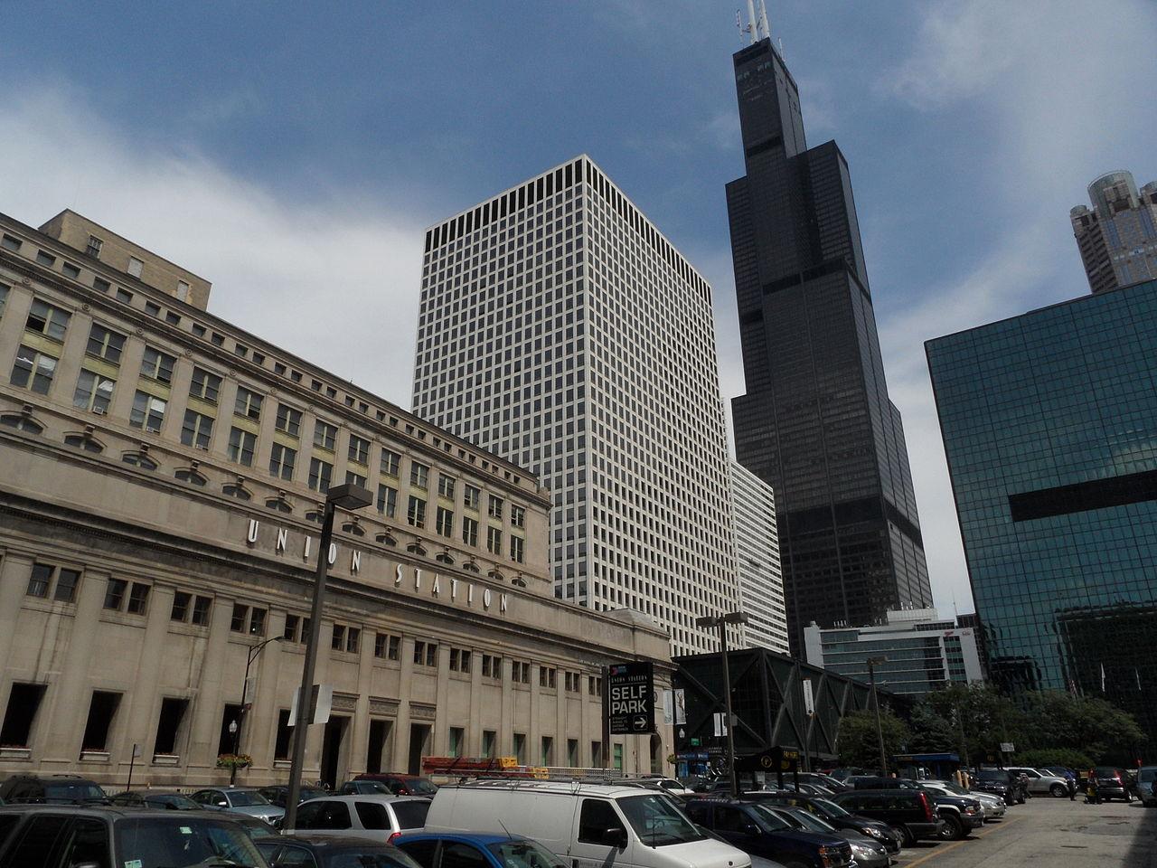 Google Maps Chicago Union Station