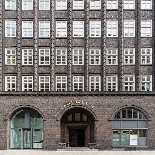 Chilehaus (Hamburg-Altstadt).Eingang Pumpen 6.1.29133.ajb