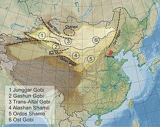 Gobi desert (China)