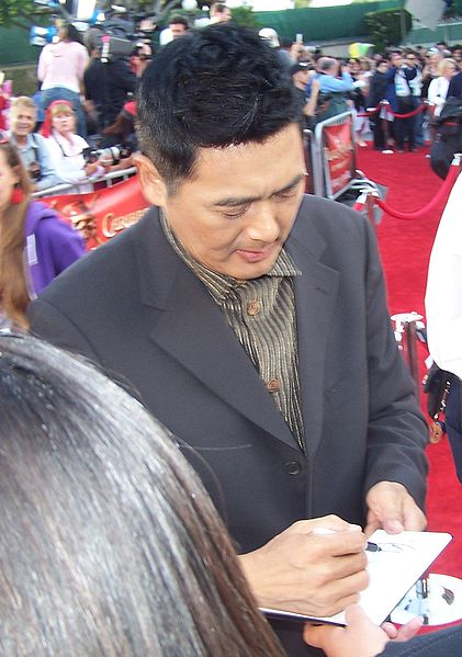 Chow yun fat, a hollywood heros photo
