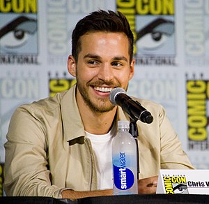 Chris Wood (actor) - Wood at the 2017 San Diego Comic Con