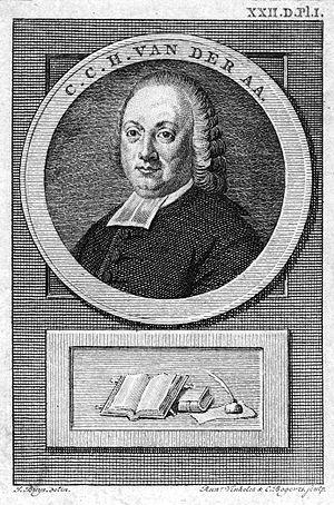 Christianus Carolus Henricus van der Aa - Christianus Carolus Henricus van der Aa (by Reinier Vinkeles and Cornelis Bogerts).