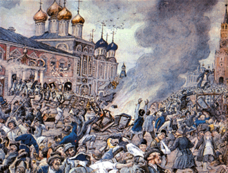 1771 in Russia - Plague Riot in Moscow, 1771