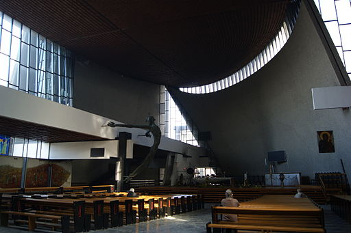 Church of Our Lady the Queen of Poland (Ark of Our Lord)-inside, 1 Obroncow Krzyza street,Nowa Huta,Krakow,Poland