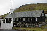 Church of Sørvágur, Faroe Islands.JPG