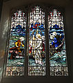 Church of Ss Mary & Lawrence interior - north aisle stained window 01.JPG