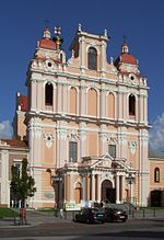 Church of St. Casimir in Vilnius (Wilno).JPG