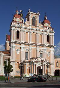 Church of St. Casimir in Vilnius (Wilno).JPG
