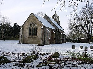 Carlton, Cambridgeshire - Image: Church of St Peter geograph.org.uk 1158621