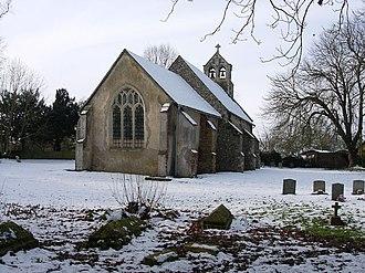 Carlton, Cambridgeshire - Image: Church of St Peter geograph.org.uk 1158621