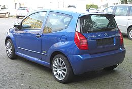 Citroën C2 VTR rear.jpg