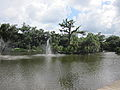 City Park NOLA 4 July 2010 Lake Fountains.JPG