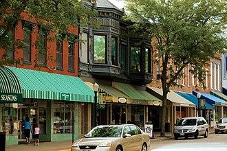 Geneseo, Illinois - Downtown Geneseo, Illinois