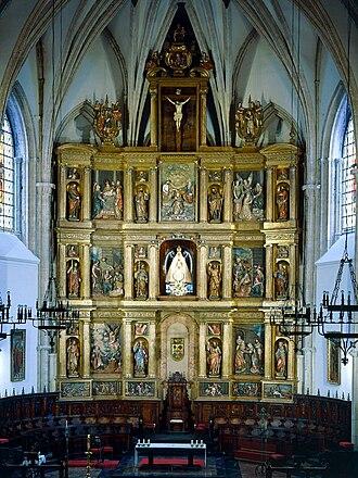 Ciudad Real Cathedral - Baroque altarpiece (1616)