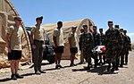 Civil Air Patrol Cadets march past Advanced Pararescue Orientation Couse instructors in Arizona.jpg