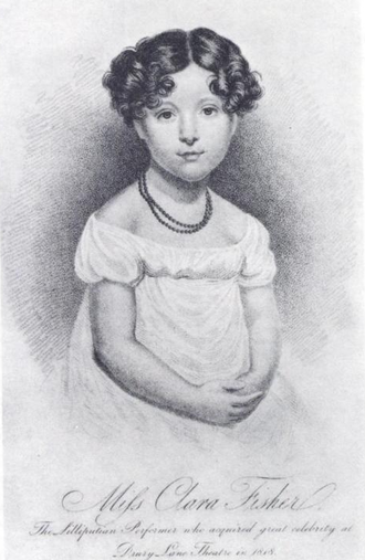 Clara Fisher - Clara Fisher at age six