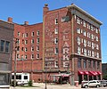 Clarke Hotel (Hastings, Nebraska) from SE 2.JPG
