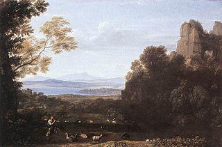 Landscape with Apollo and Mercury